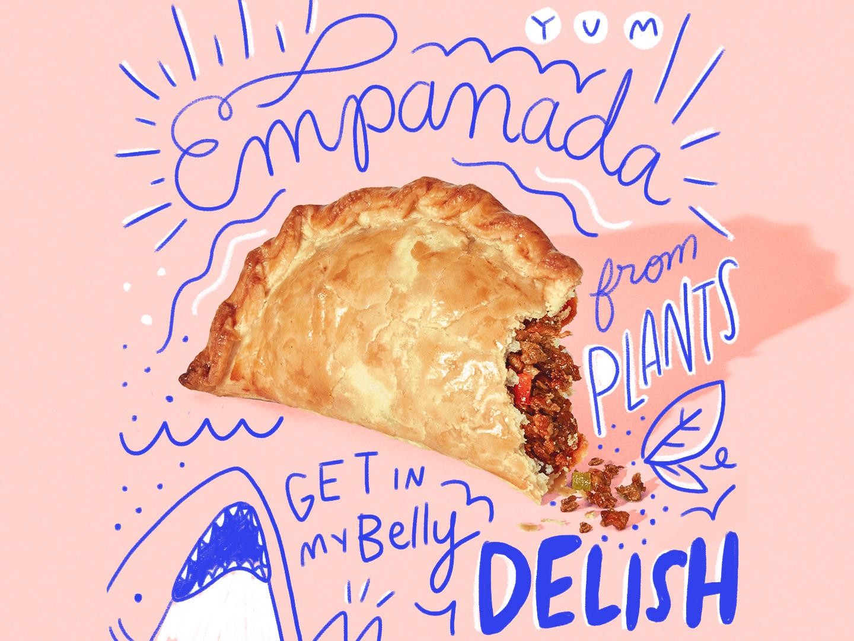 Tasty Doodles social illustration