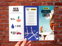 Mission Earth Trifold