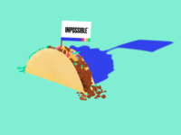 Impossible™ Taco Illustration