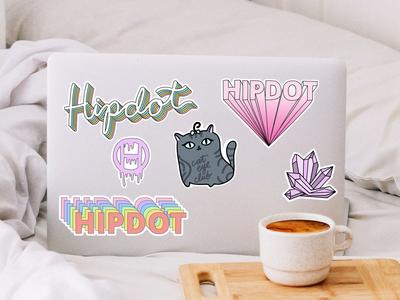 Hipdot Stickers