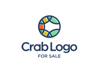 crab logo dribbble
