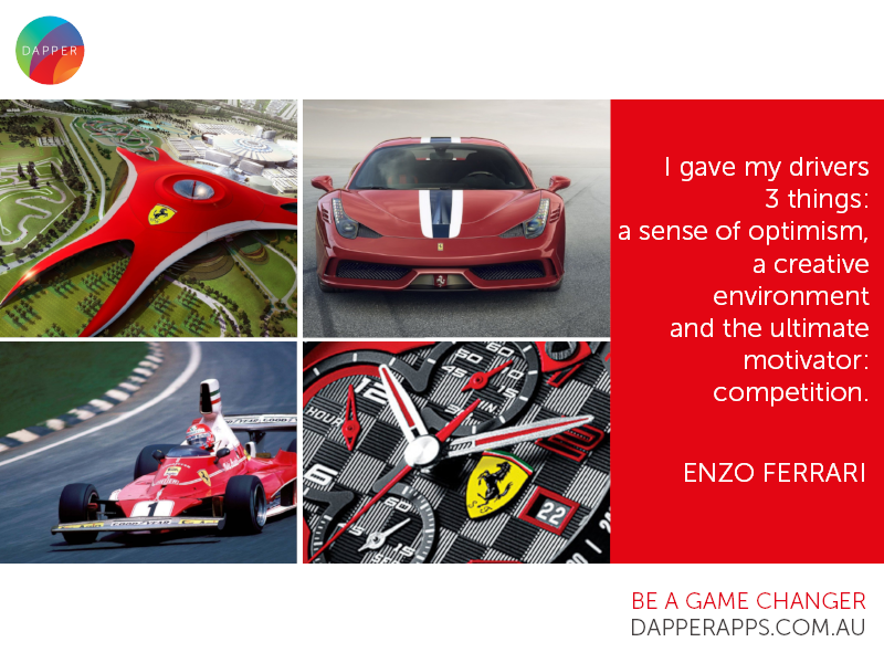 Ferrari Design Inspiration mobile developers mobile app app designers australia app designers app developers australia app developers dapper apps