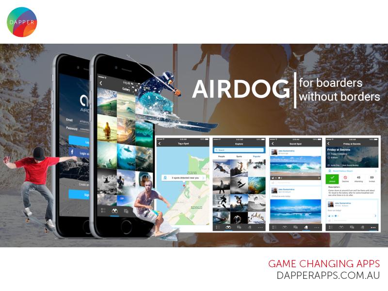 Air dog dribble