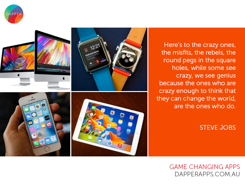 Le Design Inspiration Steve Jobs Mobile Developers Designers Australia