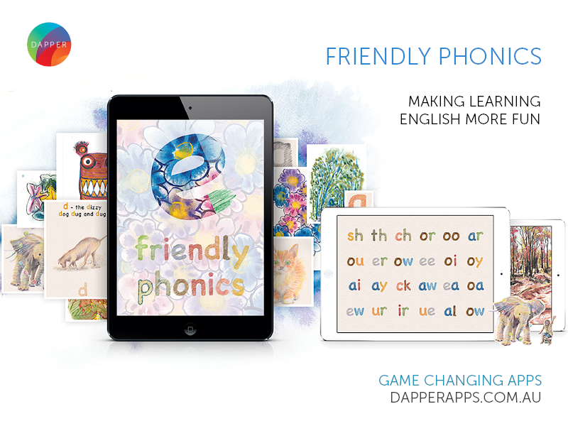 Friendly phonics dribble