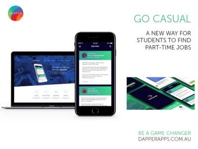 Go Casual App Design and Development