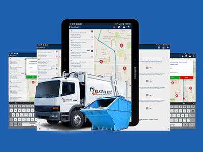 Instant Waste Management App Design and App Development ux ui dapper apps app companies australia app developers australia mobile app app development app design