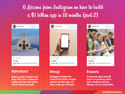 6 Lessons from Instagram on how to build a $1 billion app