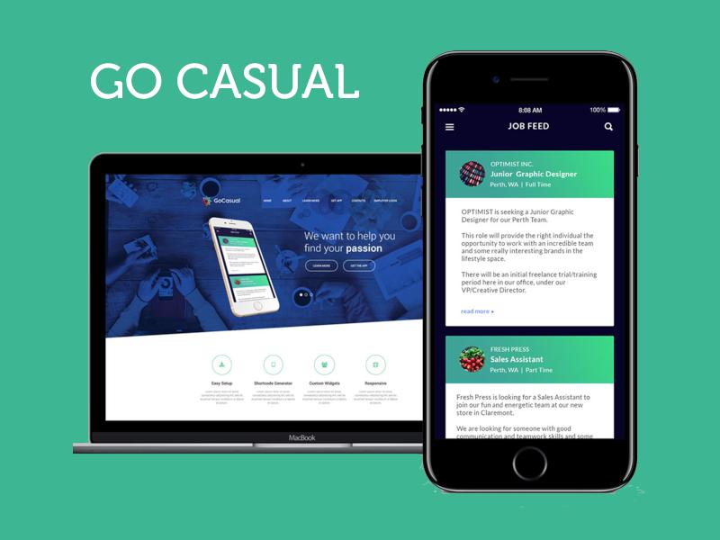 Casual meet up app