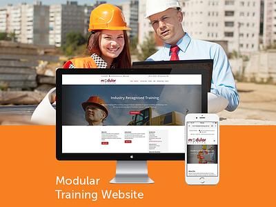 Modular Training Website app developers australia dapper apps user experience ux ui web design website