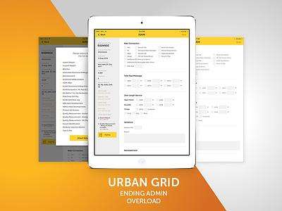 Urban Grid App Design, UI and UX app developers australia dapper apps ux design ui design tech mobile business app apps app developers app design