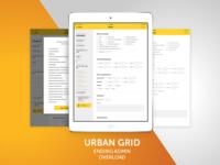 Urban Grid App Design, UI and UX