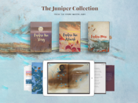 Juniper Collection App Design, UI, UX and Development