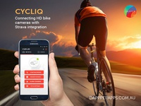 Cycliq Mobile App Design, UI, UX and Development
