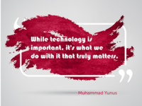 Muhammad Yunus on Technology