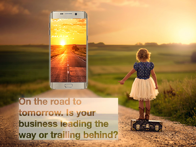 The Road To Tomorrow business app app design apps app developers australia dapper apps quotes motivation app marketing tech mobile