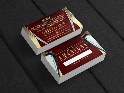Custom business card design for hair salon business prismadream beauty hair salon logo design tarjetas business marketing brand identity branding graphic design business cards
