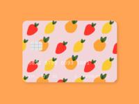 fruity credit card