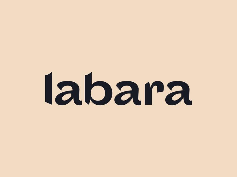 labara lula identity font wordmark logo branding type graphic typography flat illustrator vector color minimal