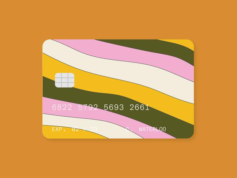 fruit stripe pattern design stripes pattern creditcard ui ux illustration graphic typography flat illustrator vector color minimal