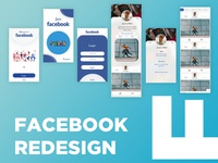 Facebook Redesign Concept | Uplabs Challange