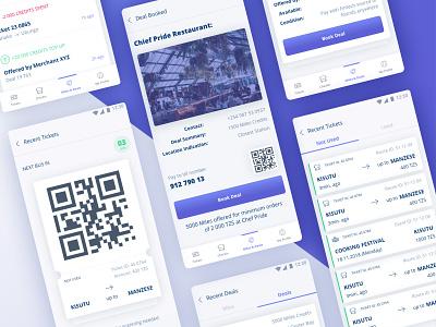 Transport App Screens🚌 ethworks transport aplication ui ux typography flat design blockchain illustration