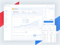 Cryptocurrency Exchange-Dashboard☄