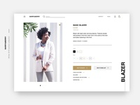 Fashion Store Product Page🌿
