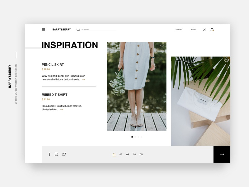 Fashion Store Inspiration Page🌿