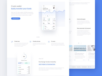 Crypto savings-landing page bitcoin cryptocurrency landing currency website ethereum ethworks crypto blockchain design