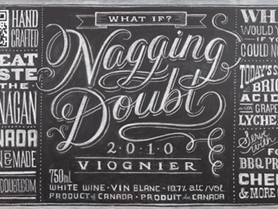 Nagging Doubt Viognier