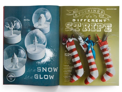 West Elm Catalog chalk lettering typography christmas holiday west elm stockings snow chalkboard
