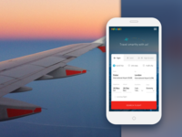 Booking flights app