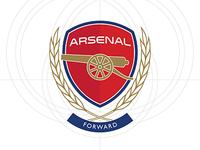 Arsenal FC Crest Refresh
