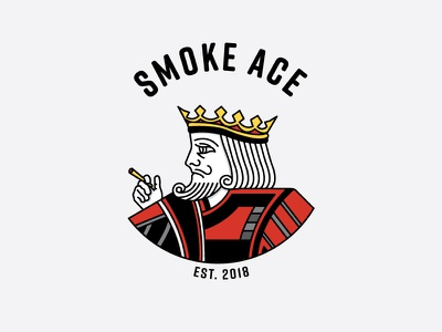 Smoke Ace Branding smoke branding logo