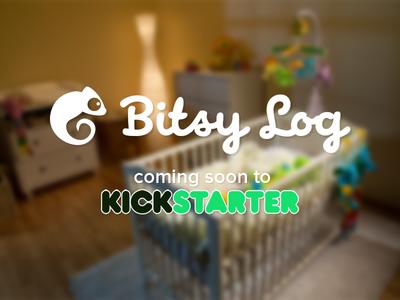 Bitsy Log Kickstarter! kickstarter baby app parenting