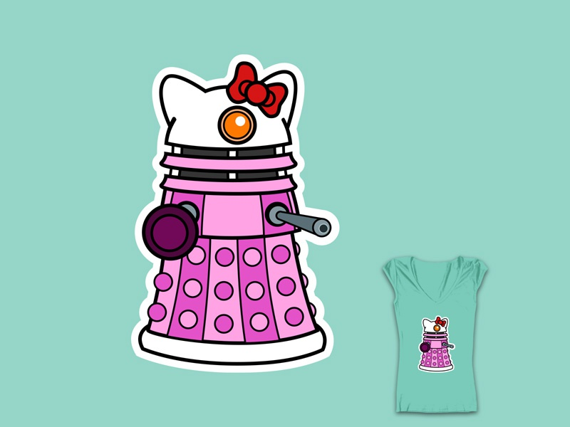 Hello dalek threadless