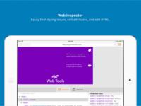 Marketing Screenshots: Web Inspector