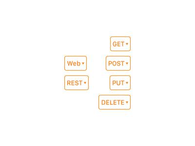 Web Tools Drop-Downs web development ipad interface