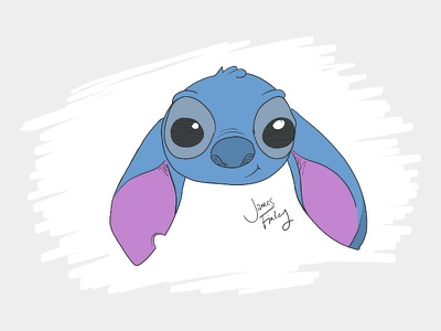 More Stitch stitch disney sketch