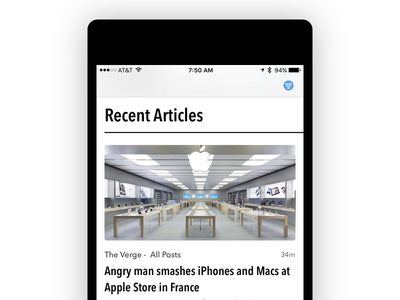 Tease ios app articles news