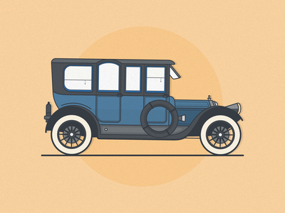 Old Presidential Vehicles historical cars illustration vehicle presidential