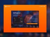 Roland Landing Page