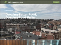 Lancaster urban farming initiative website