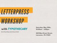 Letterpress workshop 04 compressor