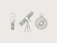exploration icons