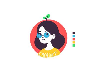 Self portrait avatar character design avatar icon design