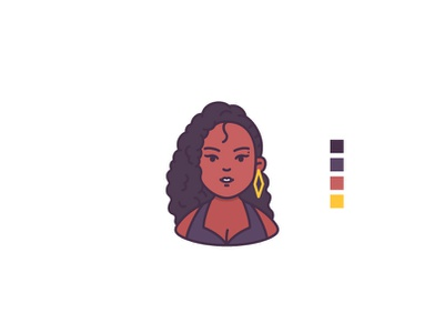 People avatar people diverse avatar face woman fashion