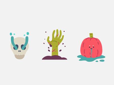 Spoooooooky design flatdesign draw color flat sticker halloween fashion branding character design avatar vector graphic design illustration icons