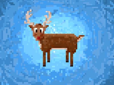 8-bit deer